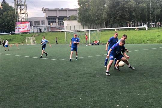 Минюст Чувашии – участник соревнований по мини-футболу