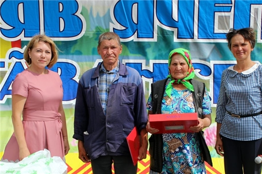 Семья Васильевых из Моргаушского района отметила «золотой» юбилей
