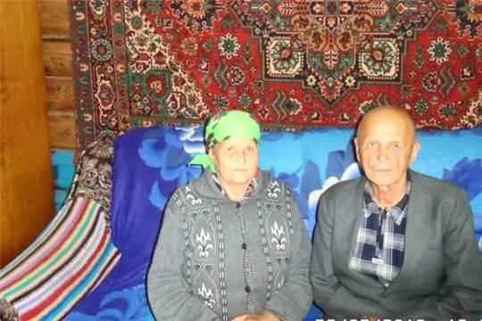Супруги Красновы из Красночетайского района отметили изумрудную свадьбу