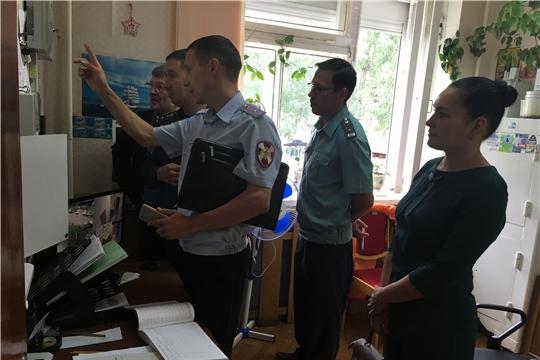Обеспечение безопасности на контроле: обследованы помещения мировых судей г. Новочебоксарск