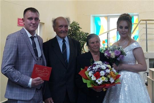 В отделе ЗАГС г.Новочебоксарска состоялась встреча поколений «Семья – семье»
