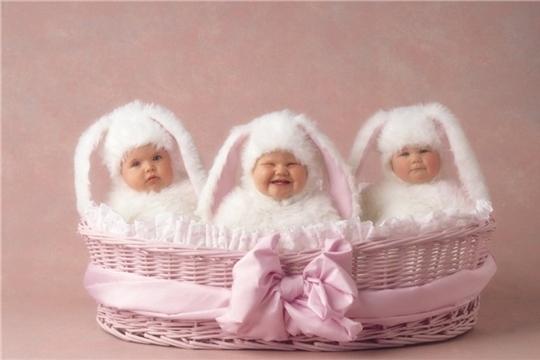 В отделе ЗАГС администрации Вурнарского района зарегистрировано рождение трех малышек – трех Ульян