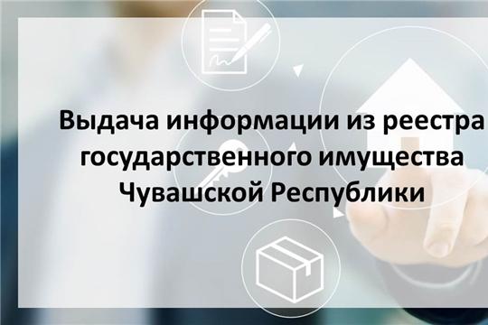 Регламентирована последовательность действий при предоставлении государственной услуги по выдаче информации из реестра государственного имущества Чувашской Республики
