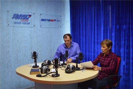 На Радио Чувашии вышел новый выпуск программы «Социальная среда» с участием директора БУ «Чуваштехинвентаризация» Алексея Вязова