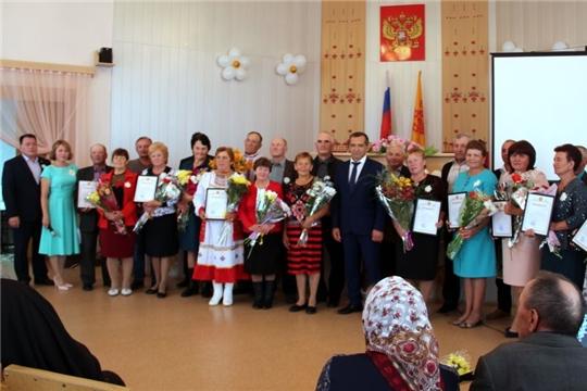 В Моргаушском районе отметили День семьи, любви и верности: «пусть счастье поселится в ваш дом»