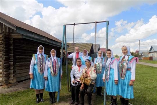 Праздник деревни Семенькасы