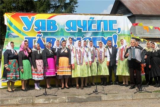 Хорнойцы в седьмой раз ярко отметили день деревни