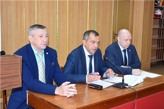 В Моргаушском районе прошло рабочее совещание по вопросу обращения с ТКО