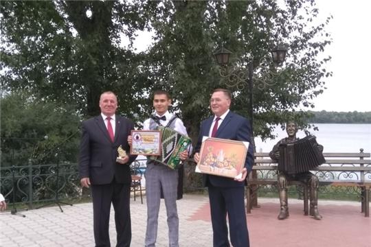 Евгений Тодинов – победитель в номинации «Гармонист- любитель»