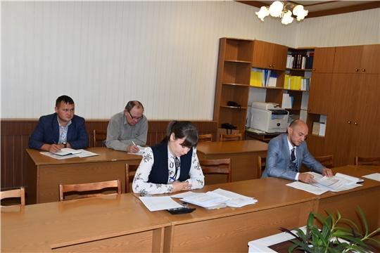 Состоялось заседание межведомственной комиссии по вопросам своевременности и полноты выплаты заработной платы, снижения неформальной занятости при главе администрации Моргаушского района