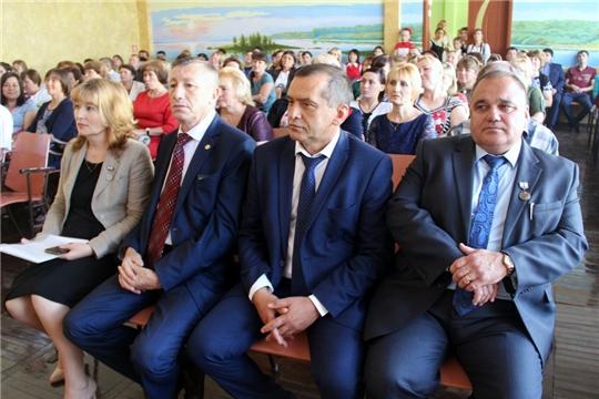 Перспективы развития системы образования обсудили педагоги Моргаушского района