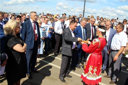 Моргаушский район  - на праздновании 550-летия г. Чебоксары: «у вас самая классная площадка по всей Набережной»