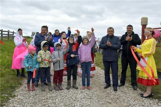 В Шербашах состоялось торжественное открытие отремонтированной дороги: «Спасибо руководству республики и района за такой подарок»