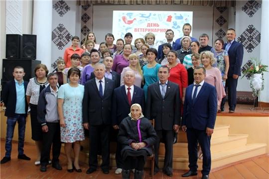 Ветеринары Моргаушского района отметили свой профессиональный праздник
