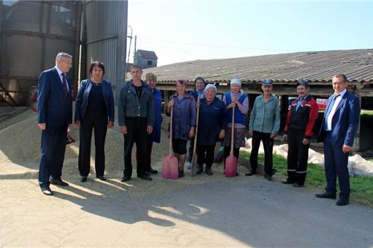 В СХПК «Герой» уборка зерновых культур выходит на финишную прямую