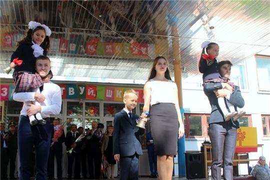 В Моргаушской СОШ за парты сели 962 школьника, в том числе 116 «первоклашек»