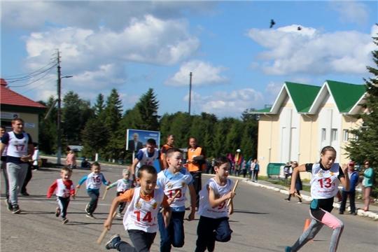 Состоялась легкоатлетическая эстафета на призы Моргаушской районной газеты «Çĕнтерÿ ялавĕ»