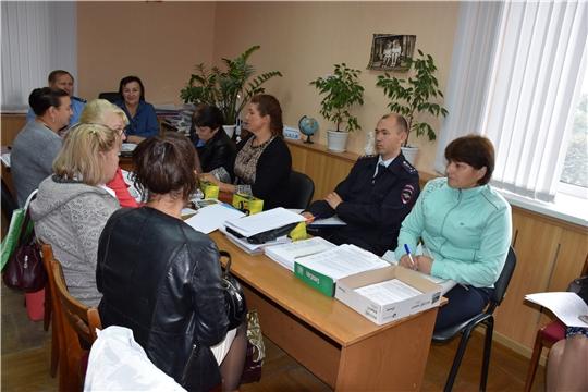 Состоялось совещание с председателями и секретарями участковых избирательных комиссий избирательных участков Моргаушского района