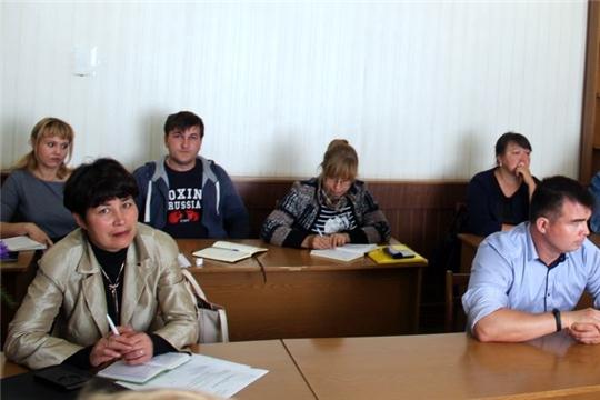 Главы сельских поселений Моргаушского района обсудили вопросы завершения обустройства контейнерных площадок, пополнения местного бюджета