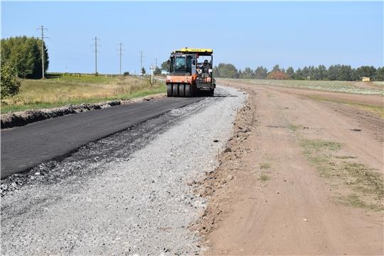 В Моргаушском районе активно реализуется национальный проект  «Безопасные и качественные автомобильные дороги»