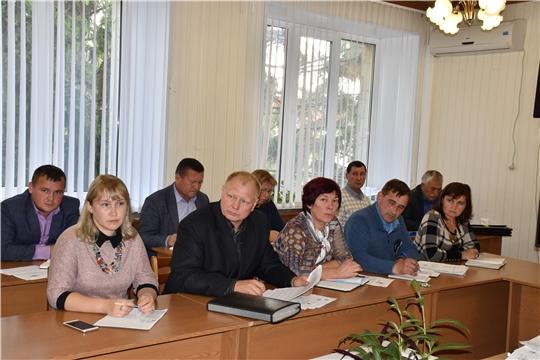 Состоялось совещание с главами сельских поселений Моргаушского района