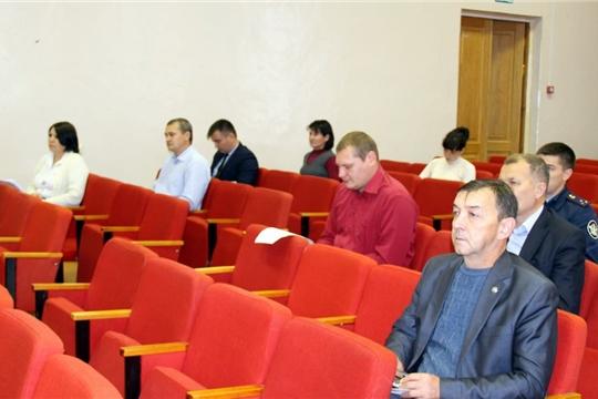 Состоялось заседание комиссии по профилактике правонарушений при администрации Моргаушского района: «причина многих бед  - злоупотребление алкоголем»