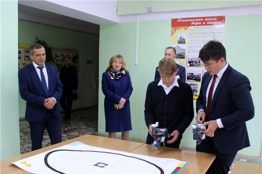 В Моргаушском районе открылись сразу 2 Центра образования гуманитарного и цифрового профилей «Точка роста»