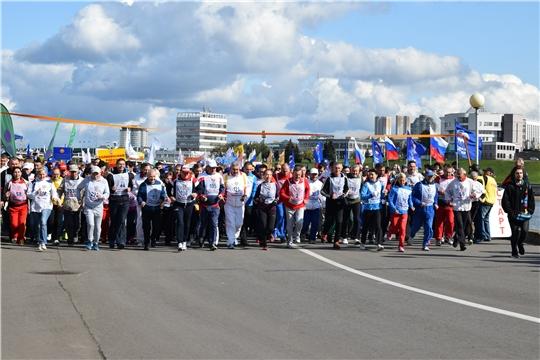 Чувашия в 16-ый раз присоединилась к Всероссийскому дню бега.