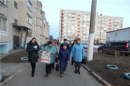 Глава администрации Новочебоксарска Ольга Чепрасова приняла участие в расширенном рейде в рамках акции «Безопасность детства»