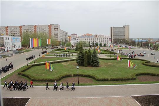 В Новочебоксарске проходят репетиции парада Победы