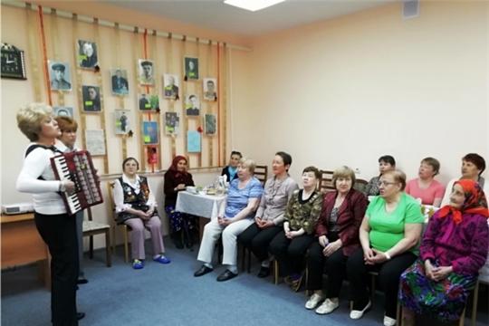 В Новочебоксарском ЦСОН прошло мероприятие «Живая память поколений»