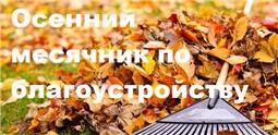 Осенний санитарно-экологический месячник