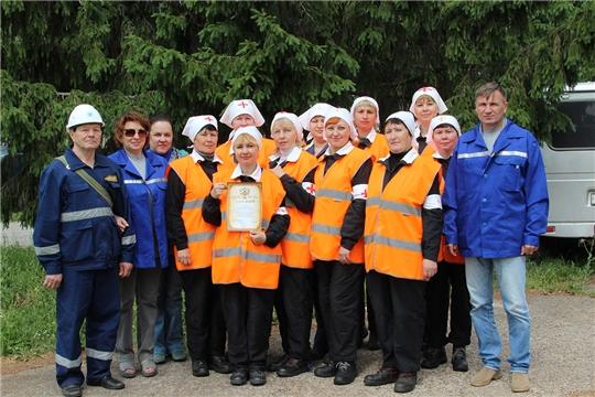Санитарные дружины ПАО «Химпром» в очередной раз подтвердили звание лучших в Новочебоксарске