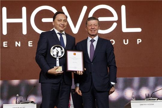 Группа компаний «Хевел» - победитель Национальной премии «Индустрия-2019»