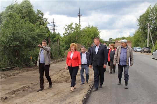 Глава городской администрации Ольга Чепрасова провела очередное совещание по вопросу капитального ремонта улицы Промышленной