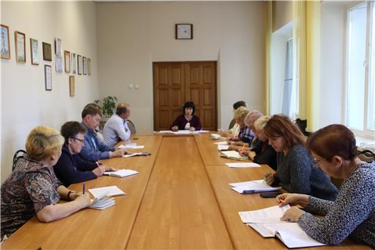 В Новочебоксарске прошло очередное совещание председателей ТОС