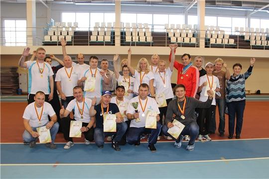 Работники «Химпрома» стали медалистами в 7 видах спорта Спартакиады трудовых коллективов Чувашской Республики