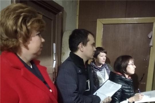 Глава администрации Новочебоксарска Ольга Чепрасова приняла участие в очередном рейде в рамках Всероссийской акции «Безопасность детства»