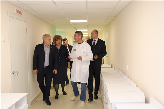 Национальный проект «Здравоохранение»: ремонт городской больницы