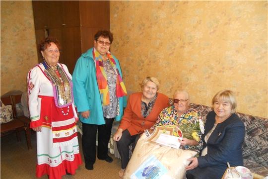 Ветерану Великой Отечественной войны Лидии Фоминичне Курмановой исполнилось 90 лет