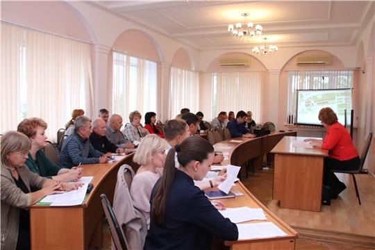 В Новочебоксарске прошел расширенный оргкомитет по подготовке ко Дню города