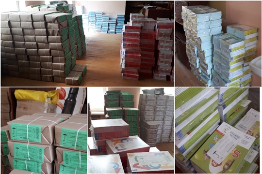 Новые учебники поступают во все школы города Новочебоксарска