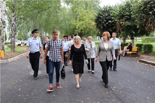 В Новочебоксарске прошел выездной оргкомитет по подготовке ко Дню города