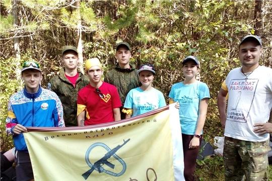 Команда военно-патриотического клуба «Кредо» из Новочебоксарска - победитель Республиканского туристского слёта учащихся