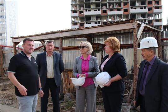 Строительство нового детского сада - на контроле Министерства образования и молодежной политики Чувашии и администрации Новочебоксарска