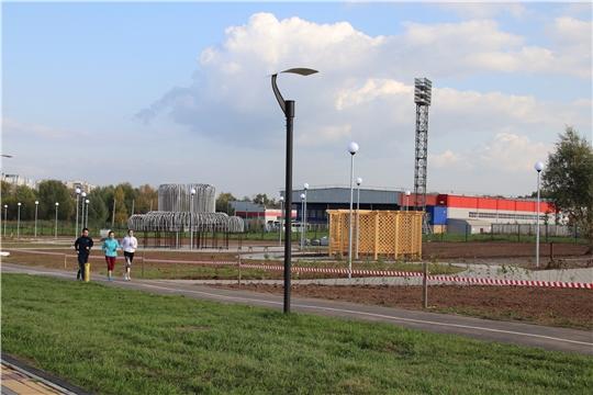 В Новочебоксарске за три года благоустроено 115 дворовых территорий