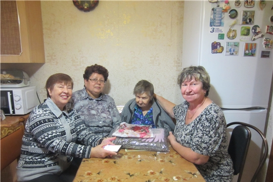 Жительница Новочебоксарска Вера Васильевна Шукалова получила поздравление с 95-летием