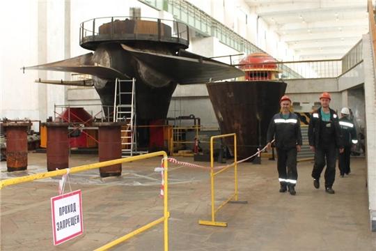 На Чебоксарской ГЭС начали замену статора еще одного гидрогенератора