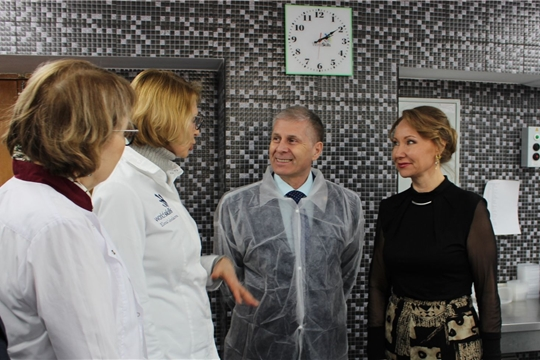 Международные эксперты высоко оценили оснащение лабораторий  Чебоксарского техникума технологии питания и коммерции