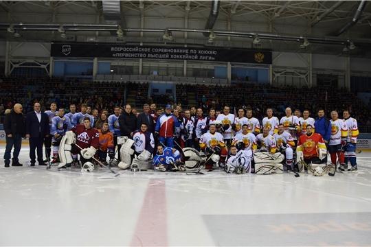Первый окружной турнир по хоккею среди студенческих команд на Кубок полномочного представителя Президента РФ в ПФО